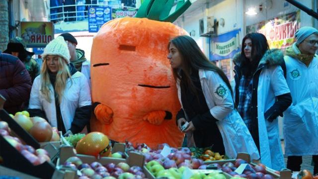 морковь огурец нагрянули проверкой рынок москве видео