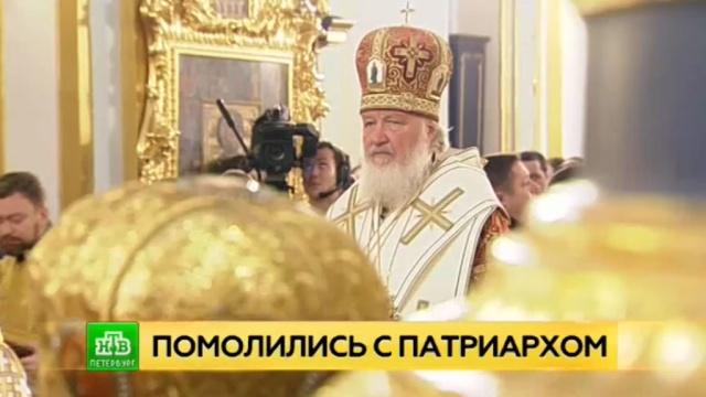 патриарх кирилл провел петербурге богослужение память николае чудотворце