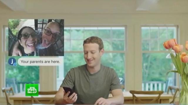марк цукерберг показал рободворецкого видео