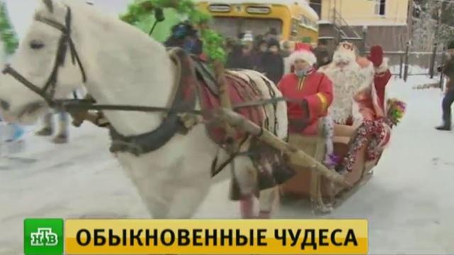 Главный Дед Мороз устроит волшебное шоу на Поклонной горе в Москве