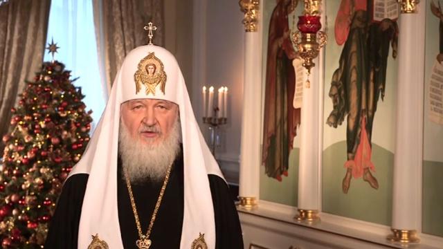 патриарх кирилл поздравил верующих праздником рождества христова