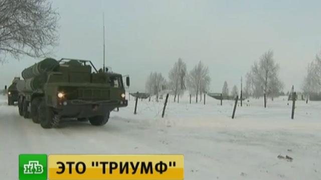 В Подольске заступил на дежурство новейший комплекс ПВО С-400