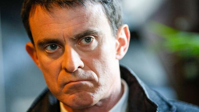 кандидат пост президента франции вальс едва получил пощечину