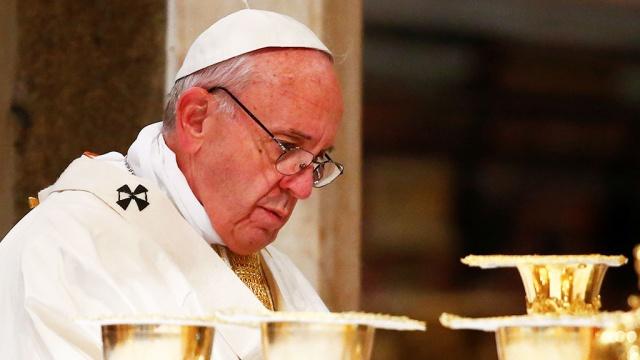 папа римский призвал торопиться выводами трампе