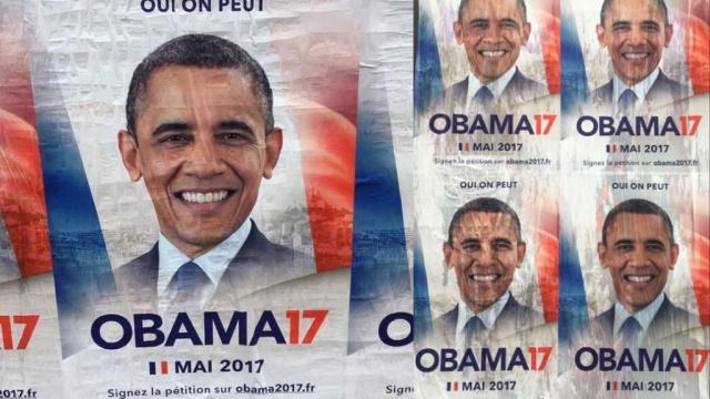 Поклонники Обамы предложили выдвинуть его в президенты Франции