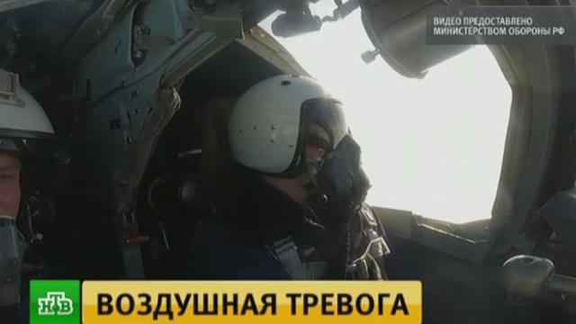 Истребители и бомбардировщики ЦВО ушли от удара условного противника
