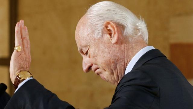 Власти Сирии отказались принять де Мистуру в преддверии женевских переговоров