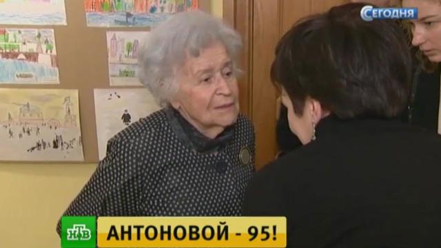 Президент Пушкинского музея Ирина Антонова отмечает юбилей на работе