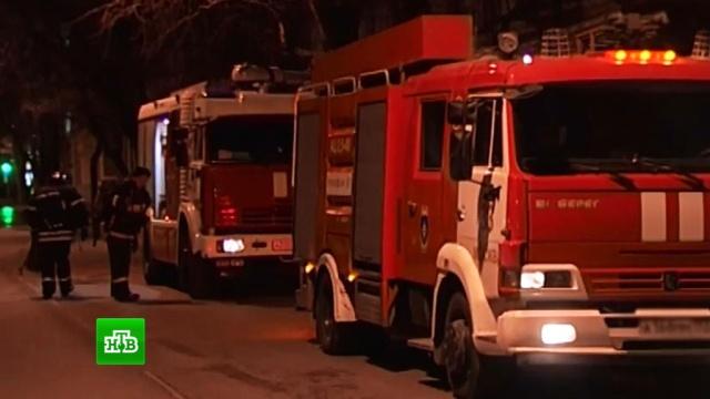 Пожар произошел в ТЦ на юго-востоке Москвы: эвакуированы десятки человек