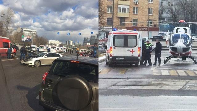 семеро детей пострадали дтп юге москвы