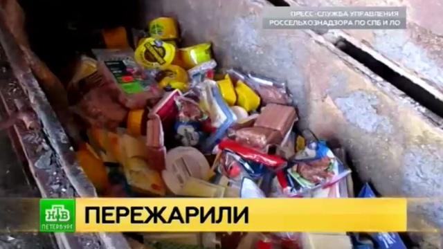 Питерский Россельхознадзор сжег европейскую санкционку