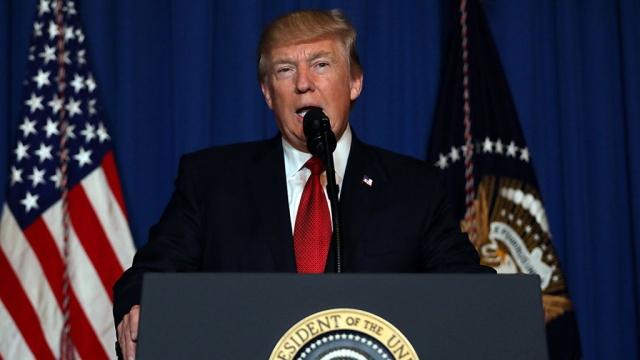 Трамп: удар по Сирии нанесен из жизненно важных интересов США