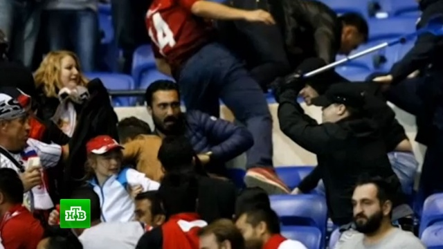 Чиновники УЕФА ищут зачинщиков беспорядков в Лионе