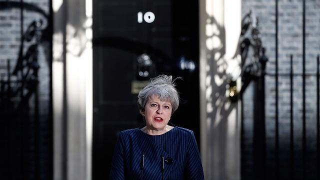 тереза мэй объявила досрочных парламентских выборах великобритании