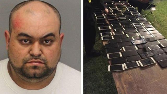 Американец украл на музыкальном фестивале более 100 смартфонов