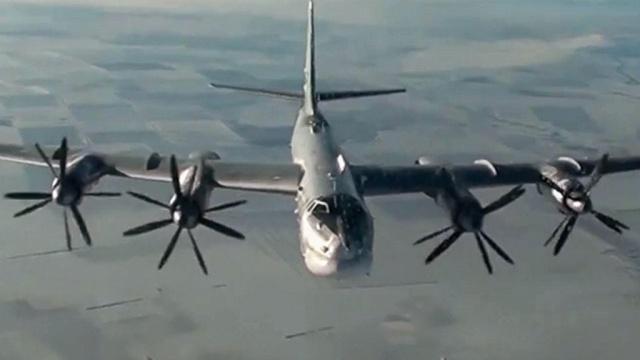 Российские Ту-95 снова совершили полет близ Аляски