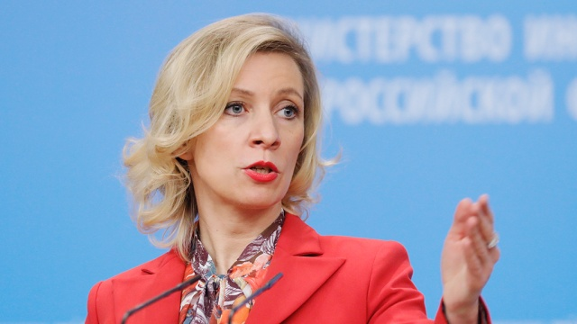 Захарова высмеяла слова Скрипки про украинский язык и гетто