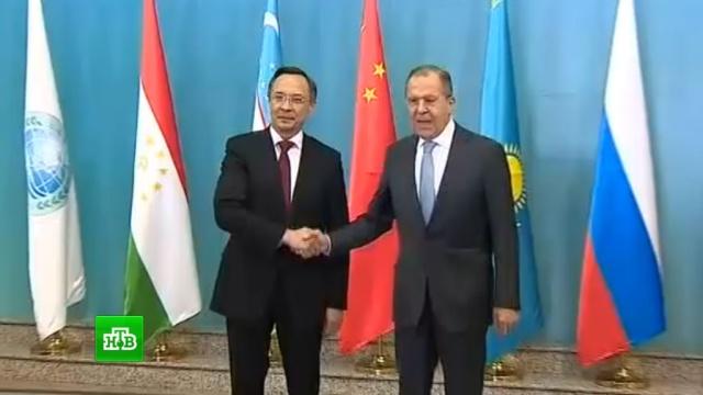 Лавров обсудил ситуацию в Сирии на саммите ШОС