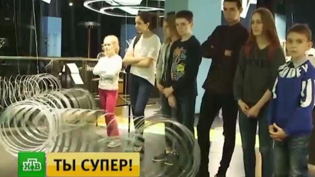 Нестандартный подход к физике: участникам шоу Ты супер! понравились поющие молнии