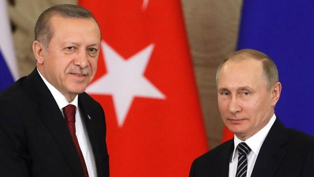 Путин и Эрдоган встретятся в Сочи 3 мая