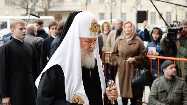 патриарх кирилл почтил память погибших метро петербурга