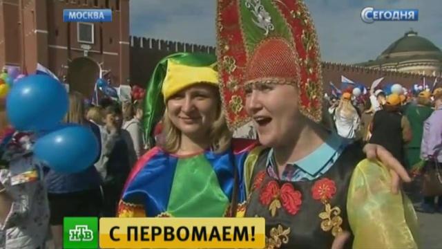 собянин поздравил москвичей праздником весны труда