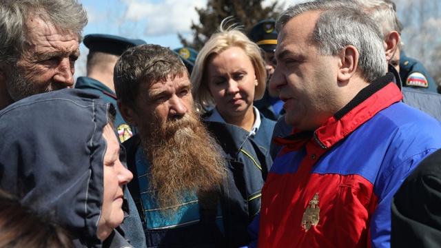 глава мчс посетил пострадавший паводка поселок ставрополье