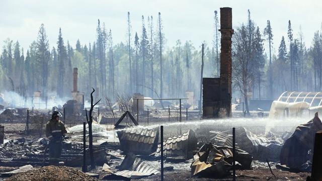 Центральный аппарат СК займется делами о пожарах под Красноярском