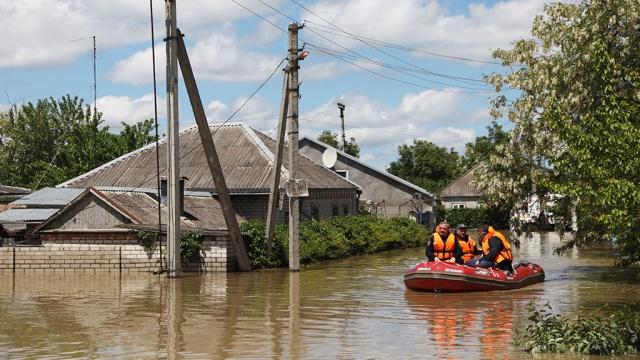 На Ставрополье из-за паводка эвакуируют жителей семи поселений
