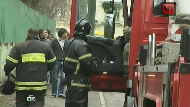 В Москве из горящего психоневрологического интерната эвакуировали 500 человек