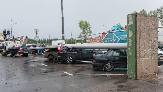 В Москве скончался мужчина, пострадавший от урагана 29 мая