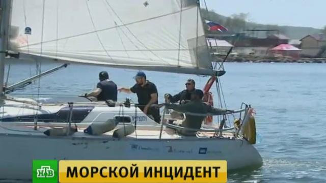 Задержанная в КНДР российская яхта взяла курс на Приморье