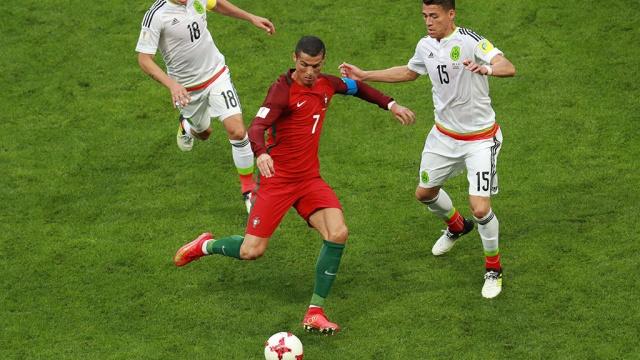 Роналду не пришел на пресс-конференцию после матча в Казани