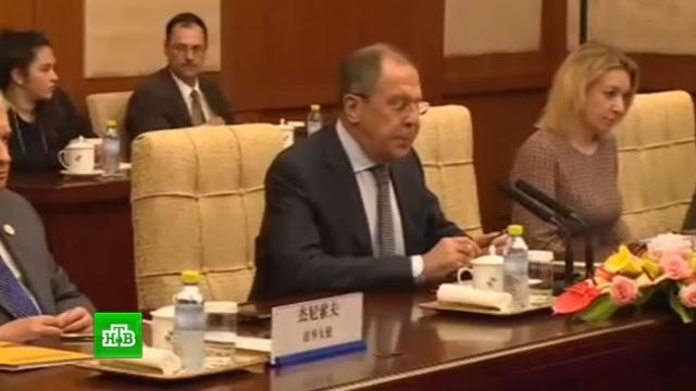 Лавров призвал США согласовывать свои действия на территории Сирии с Дамаском