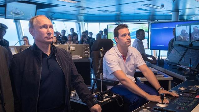 """Путин дал старт строительству глубоководной части """"Турецкого потока"""""""