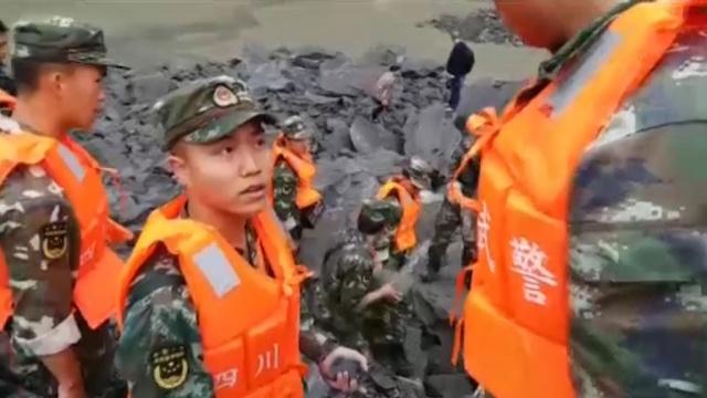 Оползень в Китае: под завалами могут находиться до 200 человек