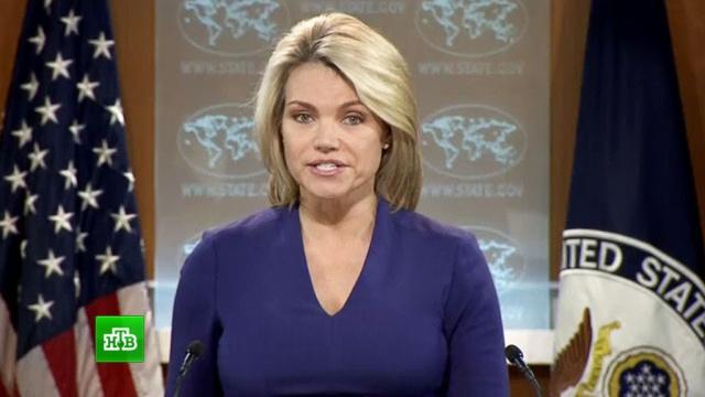 госдеп россия нести ответственность действия властей сирии