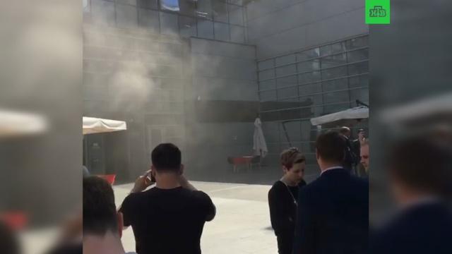 Пожар произошел в офисе Яндекса в Москве: сотрудники эвакуированы
