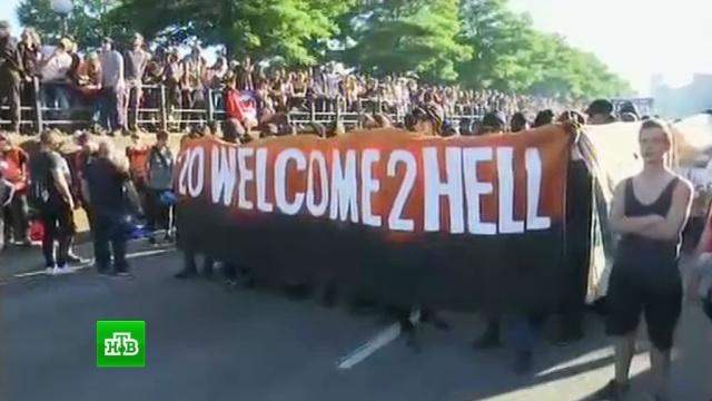 Мэр Нью-Йорка выступит на антитрамповском митинге в Гамбурге