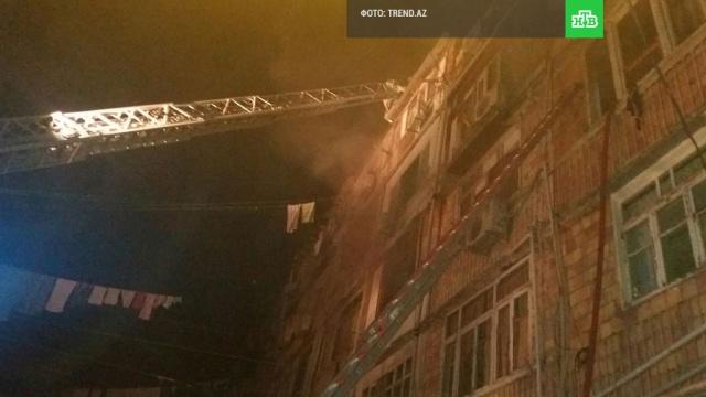 Взрыв прогремел в общежитии в Азербайджане: есть пострадавшие