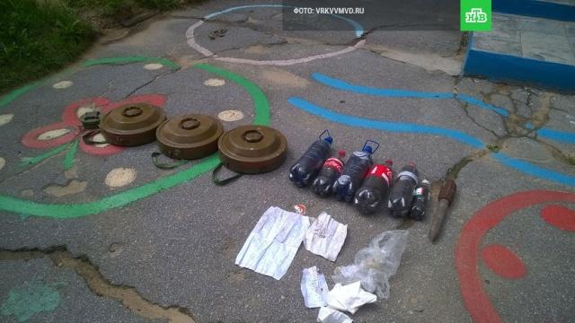 Учебные мины и порох нашли у детского сада в Хабаровске