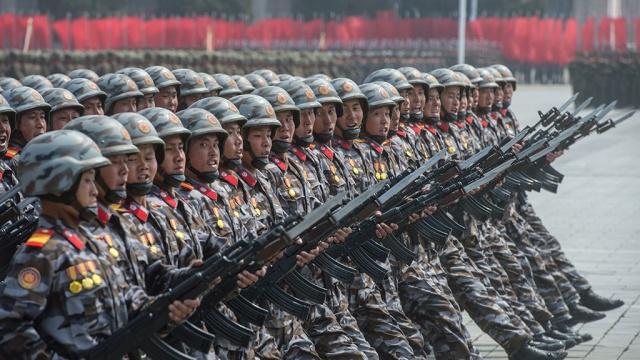 Десятикратный отпор США: в армию КНДР вступило 3,5 млн добровольцев