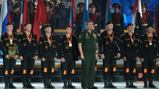 Международные армейские игры  2017: российская сборная стала абсолютным чемпионом