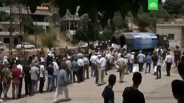Российские военные помогли ООН доставить гуманитарный груз в Восточную Гуту