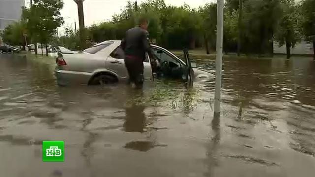 Потоп в Красноярске: власти ввели режим ЧС и предъявили претензии синоптикам