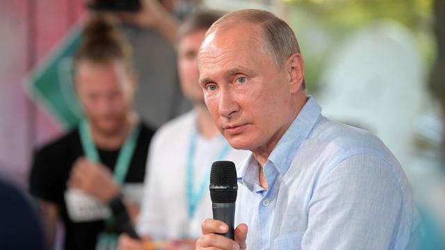 Путин назвал главные качества для президента