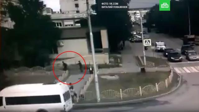 Ликвидация устроившего резню в Сургуте попала на видео