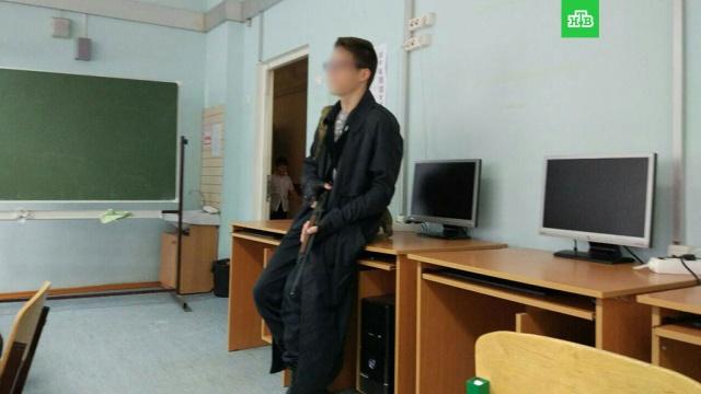 Ивантеевский стрелок: фото, сделанное во время нападения