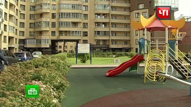 Женщина с ребенком и дама с собачкой устроили побоище над детской площадке