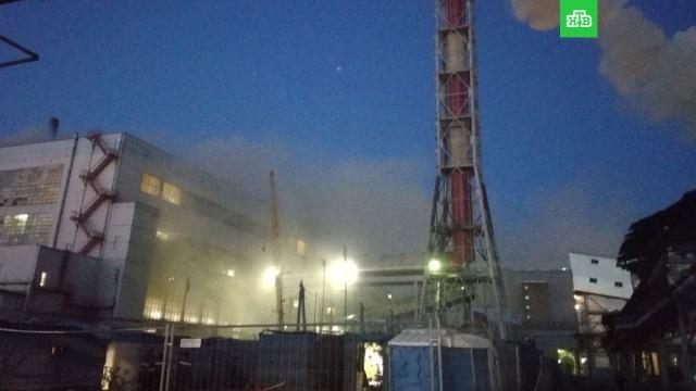 На химическом заводе в Ставропольском крае произошел пожар